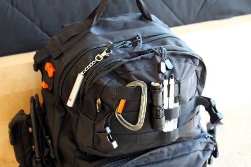 Emergency bag in Japan for disasters