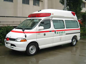 Ambulance in Japan